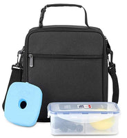 Insulated Lunch Bag with Containers & Ice Pack Via Amazon SALE $10.40 Shipped! (Reg $35.99)