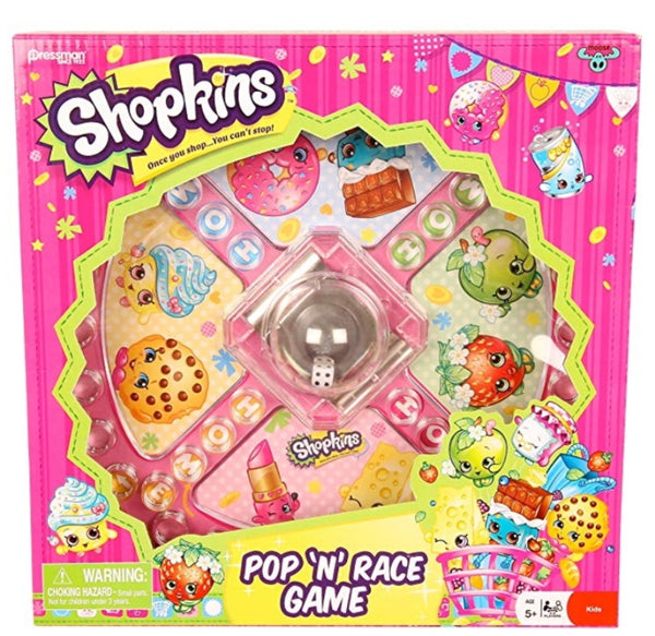 Shopkins Pop N Race Game Via Amazon SALE $2.48 Shipped! (Reg $10.99)