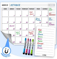 Magnetic Dry Erase Monthly Calendar with Accessories Via Amazon SALE $5.08 Shipped! (Reg $16.95)