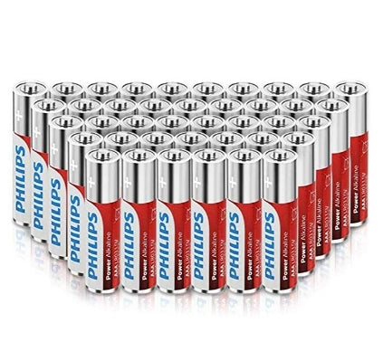 40 Count Philips AAA Batteries Via Amazon SALE $11.49 Shipped! (Reg $22.99)