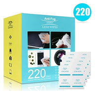 Lens Cleaning Wipes – 220 Individually Wrapped Wipes Via Amazon SALE $5.99 Shipped! (Reg $15.99)