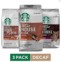 Starbucks Decaf Ground Coffee Variety Pack, Three 12-oz. Bags for $13.94 Shipped! (Reg $30)