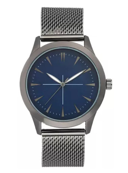 Men's Stainless Steel Mesh Bracelet Watch Via Macy's SALE $23.73 (Reg $59.50