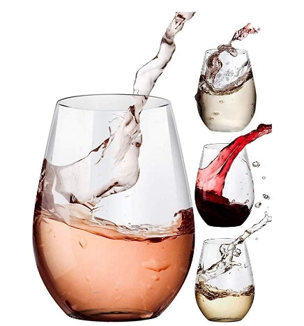 4 Pcs Stemless Wine Glasses Set Via Amazon SALE $7.99 Shipped! (Reg $17.75)