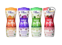 Pack of 8 Plum Organics Super Puffs Variety Pack Via Amazon SALE $12.00 Shipped! (Reg $24)