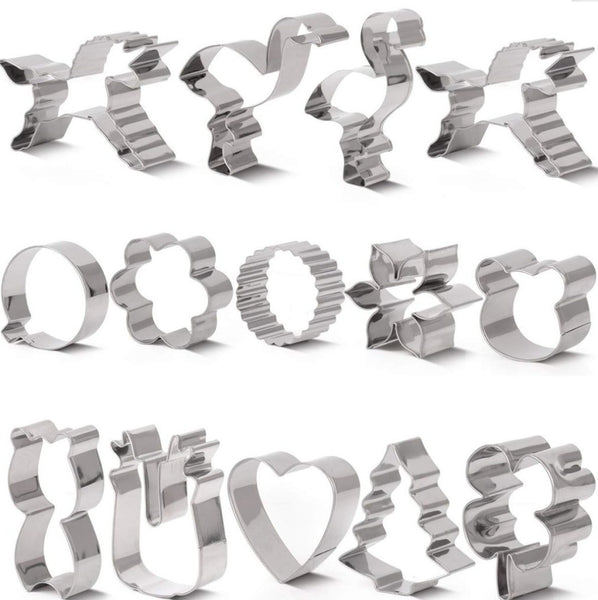 Cookie Cutter Set,14 Piece Via Amazon SALE $4.99 Shipped! (Reg$9.98)