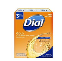 3 Count Dial Antibacterial Deodorant Soap, Gold Via Amazon