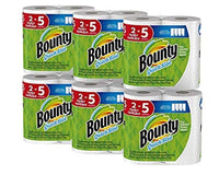 12 Count Bounty Quick-Size Paper Towel Family Rolls Via Amazon ONLY $25.92 Shipped! (Reg $30.44)