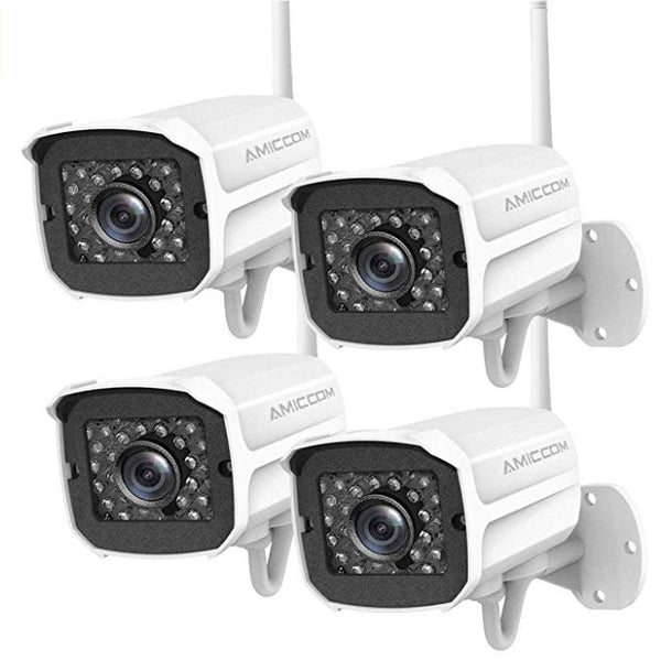 Outdoor Security Camera, 1080P HD Security Camera System Wireless Via Amazon ONLY $93.49 Shipped! (Reg $169.99)