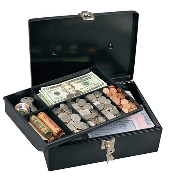Master Lock 7113D Cash Box with Money Tray & Key Lock Via Amazon ONLY $6.20 Shipped! (Reg $15)