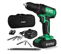 KIMO 20V Max Cordless Impact Hammer Drill Driver Kit with Fast Charger Via Amazon ONLY $34.59 Shipped! (Reg $60)