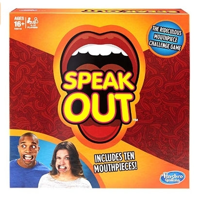 Speak Out Game with 10 Mouthpieces Via Amazon ONLY $11.96 Shipped! (Reg $22)
