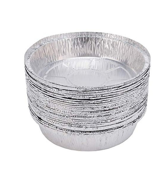 9 Inch Round Disposable Aluminum Foil Pans 30 Pack Via Amazon ONLY $9.99 Shipped! (Reg $20)