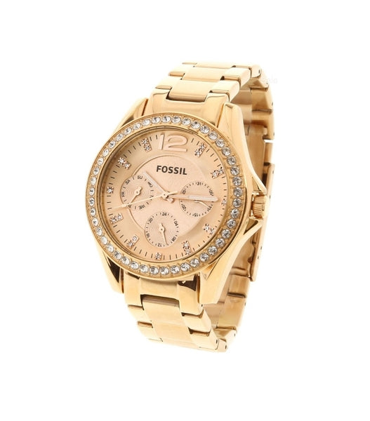 Fossil Women's Riley ES2811 Rose-Gold Stainless-Steel Analog Quartz Fashion Watch Via Ebay ONLY $55.18 Shipped! (Reg $135)