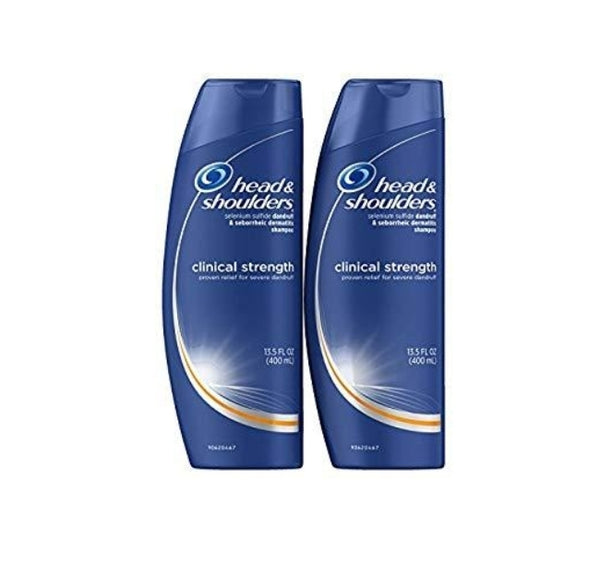 2-Pack Head and Shoulders Clinical Strength Shampoo 13.5 Fl Oz Via Amazon ONLY $6.58 Shipped! (Reg $12)