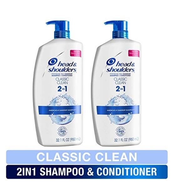 Head and Shoulders Shampoo and Conditioner 2 in 1 Via Amazon ONLY $11.53 Shipped (Reg $21)
