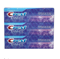 3 Pack Crest 3D White Toothpaste Radiant Mint 4.8 oz Via Amazon ONLY $5.97 Shipped! (Reg $13)