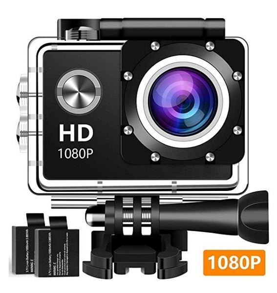 1080P Full HD Waterproof Underwater Camera Via Amazon