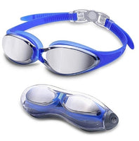 Get Letsfit Swim Goggles in G2500 Blue with Mirrored Via Amazon