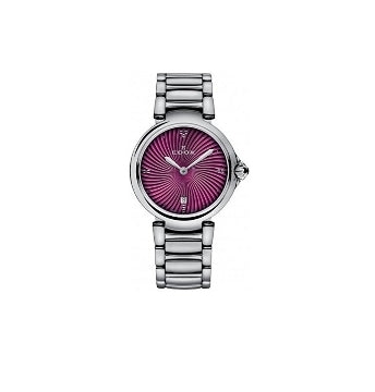 Edox 57002 3M Roin La Passion Analog Purple Dial Women's Watch Via Amazon