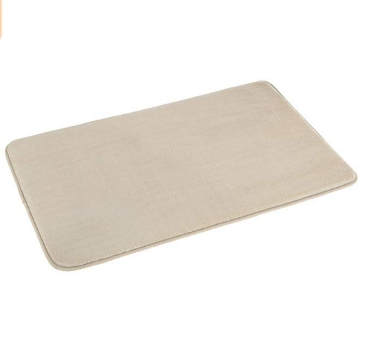 "4-Pack AmazonBasics 18"" x 28"" Non-Slip Memory Foam Bath Mat Via Amazon"