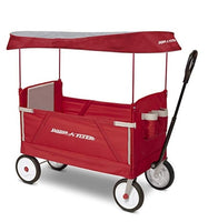 Radio Flyer 3-In-1 EZ Folding Wagon with Canopy Via Amazon