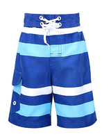 Boy's Quick Dry Swim Trunks (6 Styles) Via Amazon