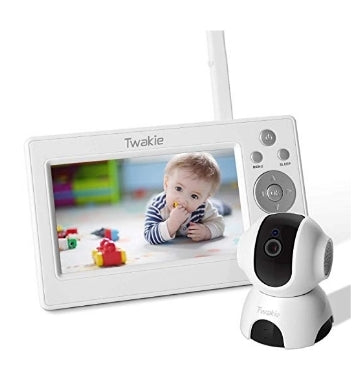 Video Baby Monitor with Large 5″ HD LCD Display 720P Digital Camera Via Amazon