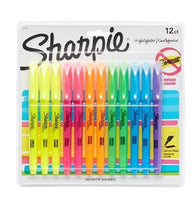 12 Count Sharpie Pocket Highlighters Via Amazon