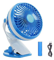 Clip On Fan, USB Battery Operated Via Amazon
