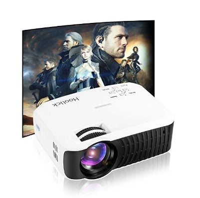 Paqcen 1080p LCD Mini Projector Via Amazon