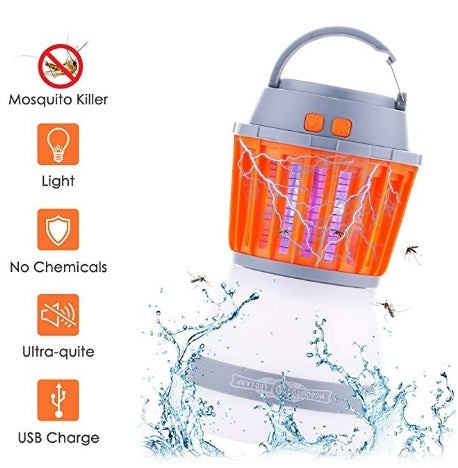 Mosquito Killer Lamp 2 in 1 Camping Lantern Via Amazon