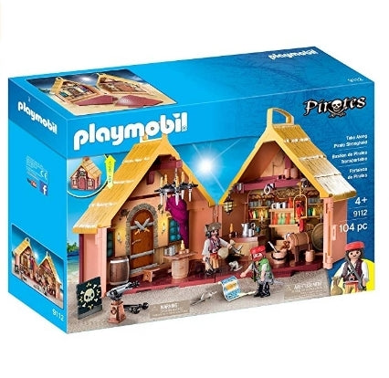 PLAYMOBIL Take Along Pirate Stronghold Via Amazon