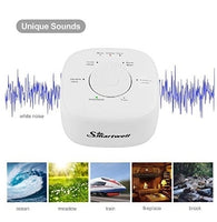 White Noise Sound Machine with Sleep Timer Via Amazon
