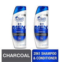 2 Pack Head and Shoulders Shampoo and Conditioner 2 in 1 Via Amazon