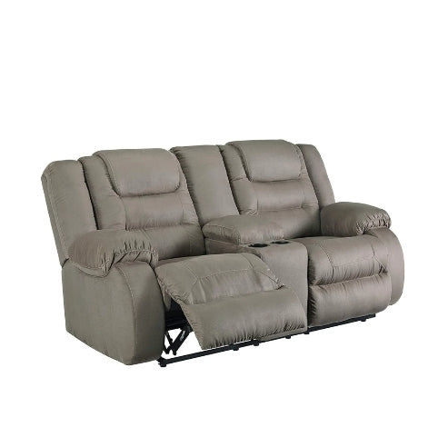 Signature Design by Ashley 1010494 Segburg Reclining Loveseat with Console, Via Amazon