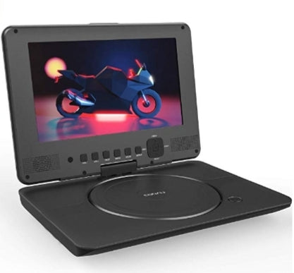 Portable DVD Player Upgraded 12″ with HD Swivel Screen Via Amazon