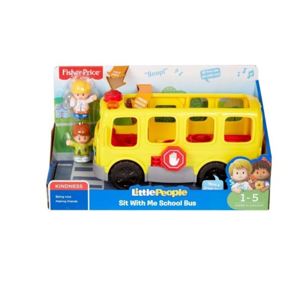 Little People Sit With Me School Bus with Lights, Sounds & Songs Via Walmart