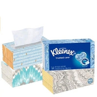 36 Boxes of Kleenex Trusted Care Everyday Facial Tissues, 144 Count Via Amazon