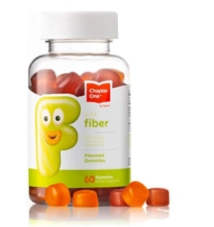 Zahler Chapter One Fiber Gummies with Natural Chicory Root Soluble Fiber Via Amazon