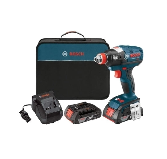 Bosch IDH182-02 18-Volt Lithium Ion Brushless Tool Kit Via Amazon