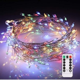200 LED String Fairy Lights with Remote Control Via Amazon