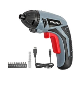 Cordless Rechargeable Power Screwdriver Via Amazon