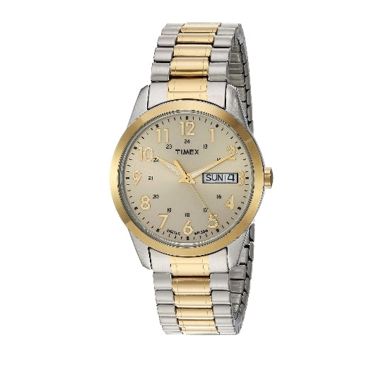 Timex Men's South Street Sport Two-Tone/Champagne Watch Via Amazon