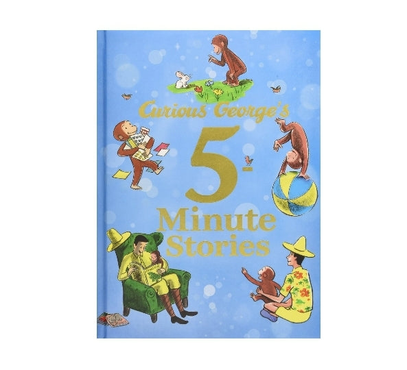 Curious George's 5-Minute Stories Via Amazon