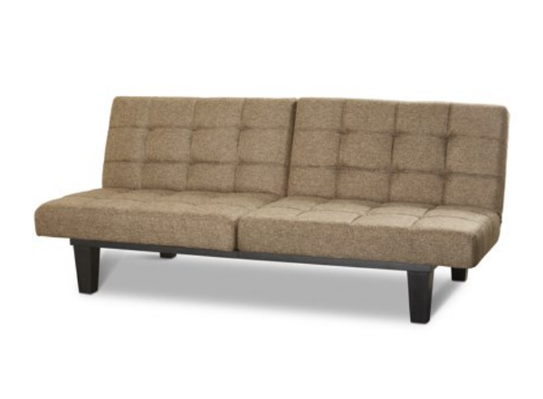 Tweed Premium Twin Memory Foam Futon Via Walmart