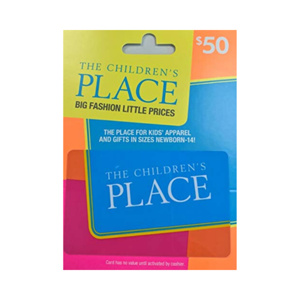 $50 The Children's Place Gift Card Via Amazon