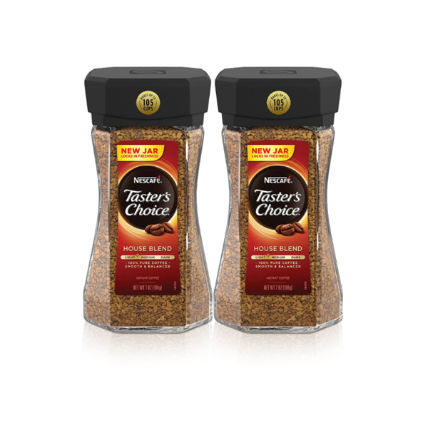 Pack Of 2 Nescafe Taster's Choice House Blend Instant Coffee Via Amazon