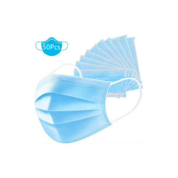50 Disposable Face Masks Via eBay