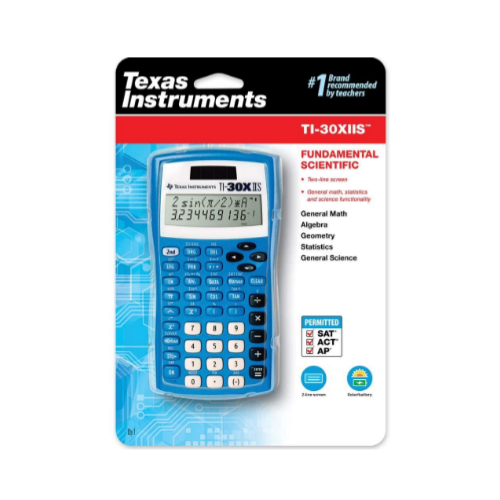 Texas Instruments TI-30XIIS Scientific Calculator Via Amazon